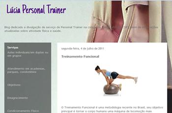 Blog Lúcia Personal Trainer